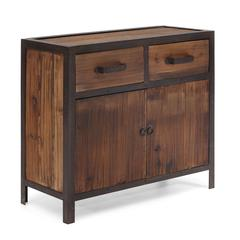 ZuoMod Fort Mason Cabinet Distressed Natural