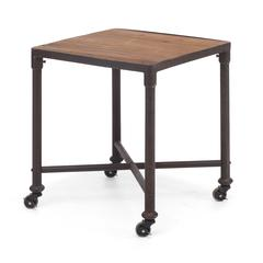 ZuoMod Mission Bay Side Table Distressed Natural