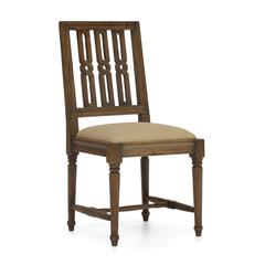 ZuoMod Excelsior Chair Distressed Natural, Set of 2