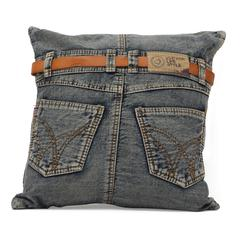 ZuoMod Jean Cushion Blue Denim w/ Back Jean