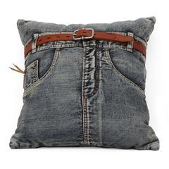 ZuoMod Jean Cushion Blue Denim w/ Front Jean