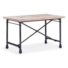 ZuoMod Presidio Heights Desk Natural Oak