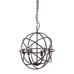 ZuoMod Hazenite Ceiling Lamp Rust