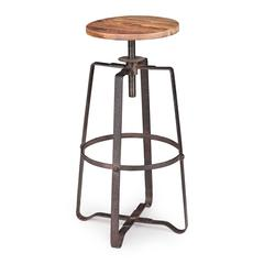 ZuoMod Wilde Barstool Distressed Natural