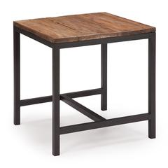 ZuoMod Fitch Side Table Distressed Natural
