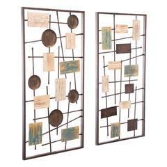 Abstract Set of 2 Wall Decor