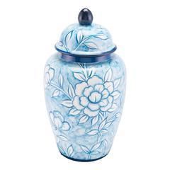 Flower Temple Jar Large