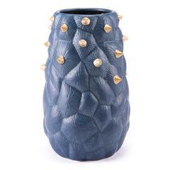 Blue Cactus Vase Medium