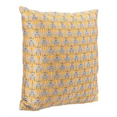Bees Al Sol Pillow Yellow