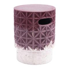 Grid Garden Seat Purple