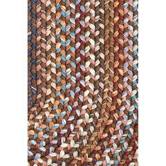 "Rhody Rug Astoria Walnut 18"" x 36"" Slice"