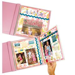 MINI Memory Book Fold-Out Panoramic Scrapbook Page Protector, Top Loading, Clear, 6 x 6, 6/PK (Set of 6 PK)