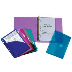 Mini Size Binder Starter Kit (Color May Vary) (Set of 2 Binder Kits)