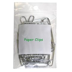 C-Line Write-On Reclosable Small Parts Bags, 2 x 3, 1000/BX