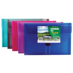 Biodegradable 7-Pocket Letter Size Expanding File, 1 File (Color May Vary) (Set of 4 EA)