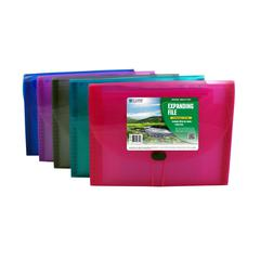 Biodegradable 13-Pocket Letter Size Expanding File, 1 File (Color May Vary) (Set of 3 EA)