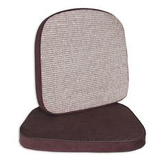 Chair and Stool Cushion, 2 inch, Brown, 17 1/2 x 18, 1/EA