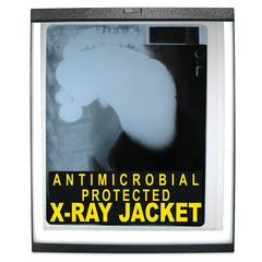 C-Line X-Ray Jackets with Antimicrobial Protection, Open Long Side, 19 X 14 1/4, 25/BX