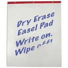 Dry Erase Easel Pad, 10 Sheets/Pad, 30 X 25, 2/CT