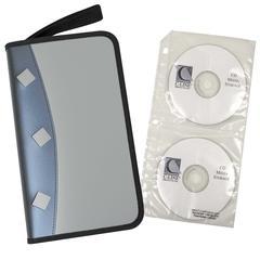 Refillable CD/DVD Organizer Case, 1/EA (Set of 2 EA)