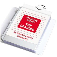 Standard Weight Polypropylene Sheet Protector, Clear, 11 x 8 1/2, 100/BX (Set of 2 BX)