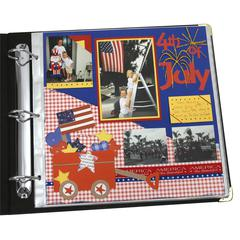 Memory Book 12 x 12 Scrapbook Page Protectors, Top Loading, Clear, 50/BX