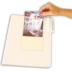 Peel & Stick Photo Holders, Clear, 4 x 6, 10/PK (Set of 5 PK)