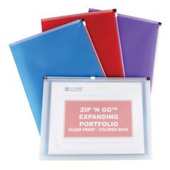 C-Line Zip 'N Go Reusable Envelope, 1 Envelope (Color May Vary) (Set of 12 EA)