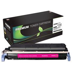 Compatible LJ 5500 5550 Magenta Toner (OEM# C9733A) (12 000 Yield) (Contains Chip)
