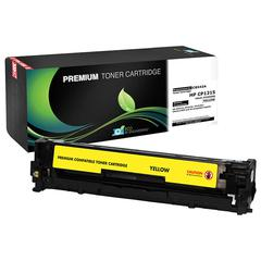 Compatible LJ CP1215  1515  1518  CM1312 MFP Yellow Toner (OEM# CB542A) (1 400 Yield)