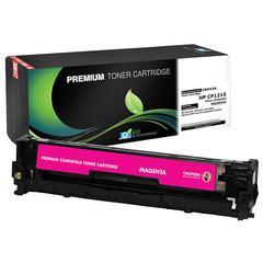 Compatible LJ CP1215  1515  1518  CM1312 MFP Magenta Toner (OEM# CB543A) (1 400 Yield)