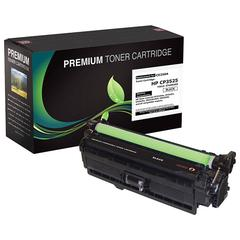 Compatible LJ CM3530 MFP  CP3525 Black Toner (OEM# CE250A) (5 000 Yield)