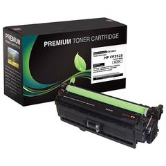 Compatible LJ CM3530 MFP  CP3525 High Yield Black Toner (OEM# CE250X) (10 500 Yield)