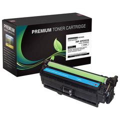 Compatible LJ CM3530 MFP  CP3525 Cyan Toner (OEM# CE251A) (7 000 Yield)