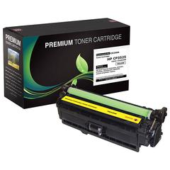 Compatible LJ CM3530 MFP  CP3525 Yellow Toner (OEM# CE252A) (7 000 Yield)