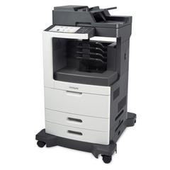 Lexmark MX812dme Multifunction Laser Printer, Copy/Fax/Print/Scan