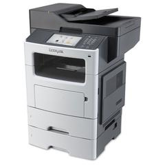 MX611dte Multifunction Laser Printer, Copy/Fax/Print/Scan