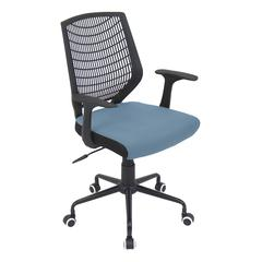 LumiSource Network Office Chair, Blue / Black