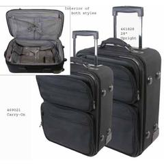 Travel-Companion Large Luggage with Garment Hanging Capability