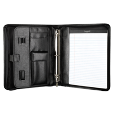 Ring binder, 2 x 12 x 13-1/2, Black