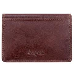 Bugatti Business card case, 1/2 x 3 x 4, Brown