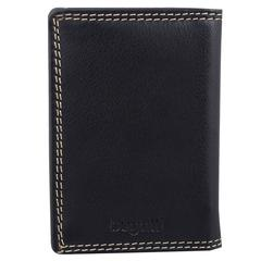 Bugatti Business card case, 3/4 x 3 x 4, Black