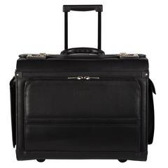 Bugatti Business case on wheels, 9 x 14 x 18, Black