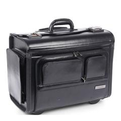 Warren Business Case on Wheels Leather