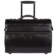 Business case on wheels, 8 x 14 x 20, Black