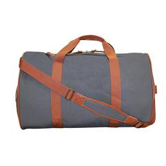 Duffle bag, 10 x 13 x 20-1/2, Grey