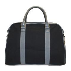 Bugatti Duffle bag, 9 x 13 x 20-1/2, Black