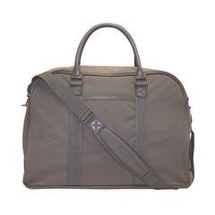 Duffle bag, 9 x 13 x 20-1/2, Grey