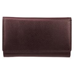 Bugatti Wallet, 1-1/4 x 3-1/2 x 6, Brown