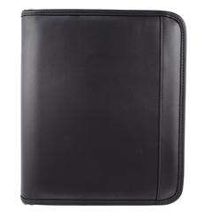 Bugatti Writing case, 1-1/2 x 10-3/4 x 9, Black